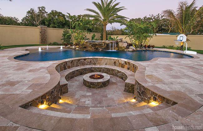 Landmark pools inc professional swimming pool builders for Landmark design