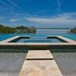Negative Edge Pool Design by Landmark Pools