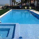 Traditional Pool by Landmark Pools