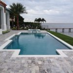 Traditional Pool by Landmark Pools